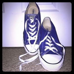 LIKE NEW purple converse!!
